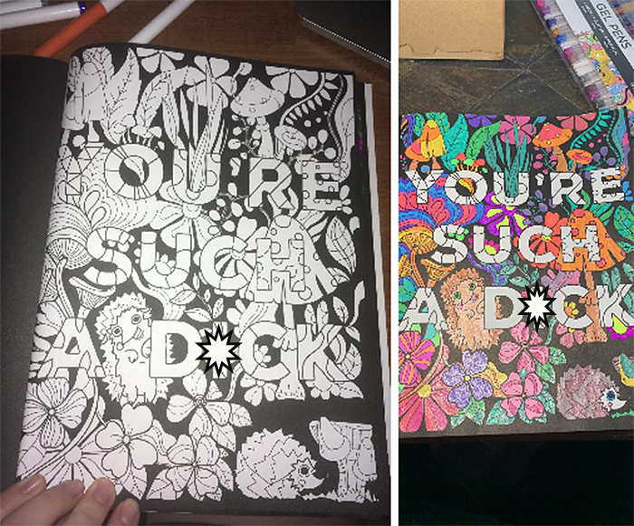 swear words coloring book cute images