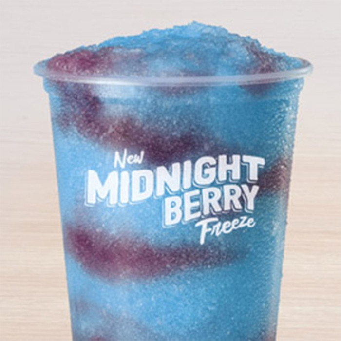 taco bell midnight blueberry freeze