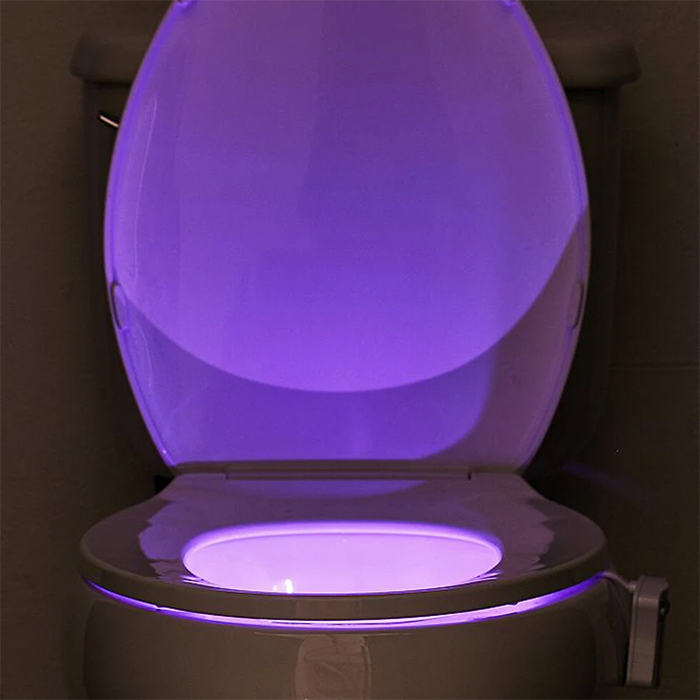 toilet bowl light motion activated