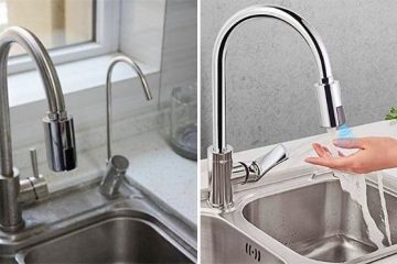 touchless automatic faucet