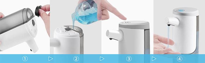 touchless foaming soap dispenser refill