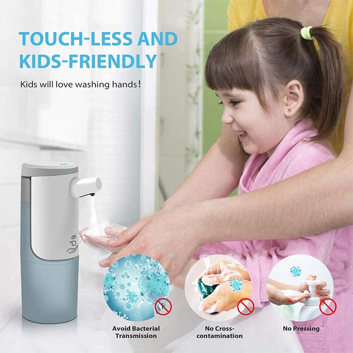 touchless foaming soap dispenser sensor