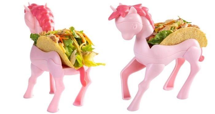 unicorn taco holder