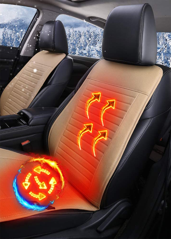 universal seat warmer beige