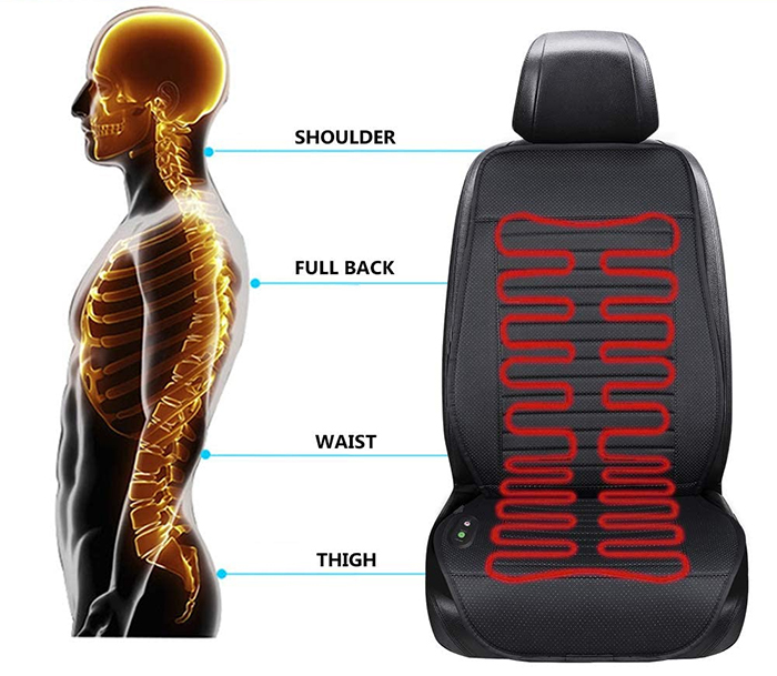 universal seat warmer ergonomic design