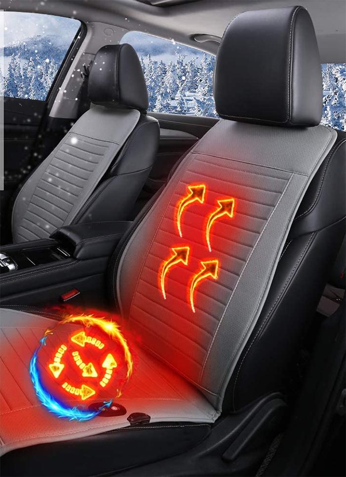 universal seat warmer gray