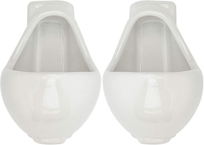 urinal-shaped ceramic shooters