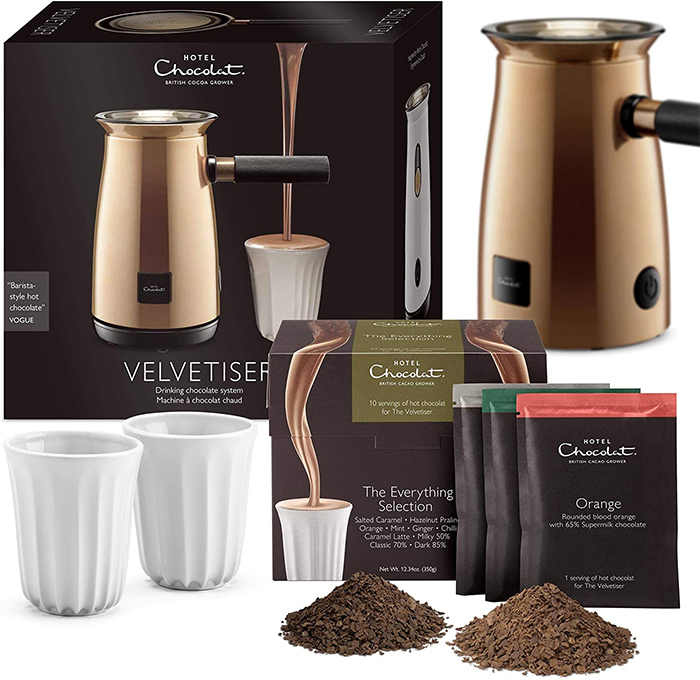 velvetiser hot chocolate maker machine