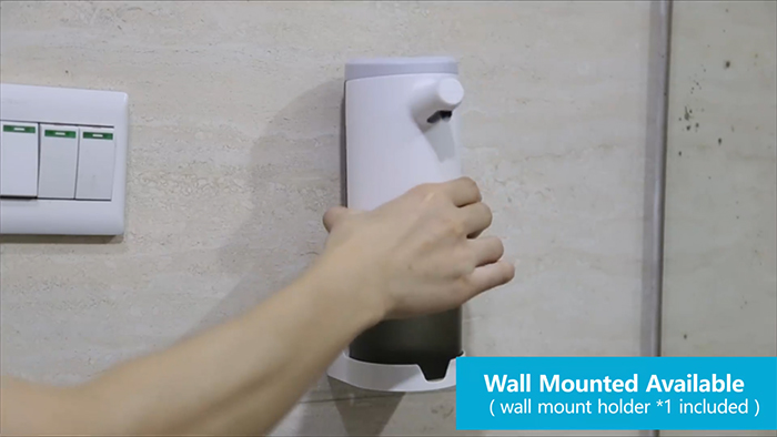wall mount holder included