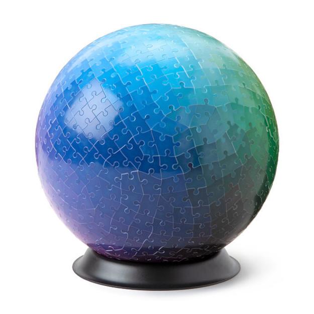 540 colors 3D sphere puzzle dark hues end