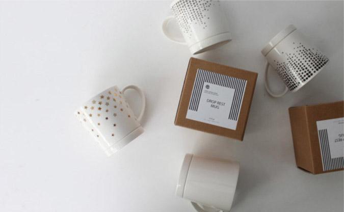 Drop-Rest Coffee in various designs