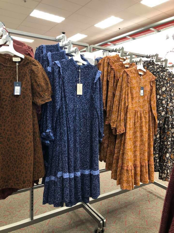 Lorca Damon roasts Target's prairie dress selection and starts a viral challenge