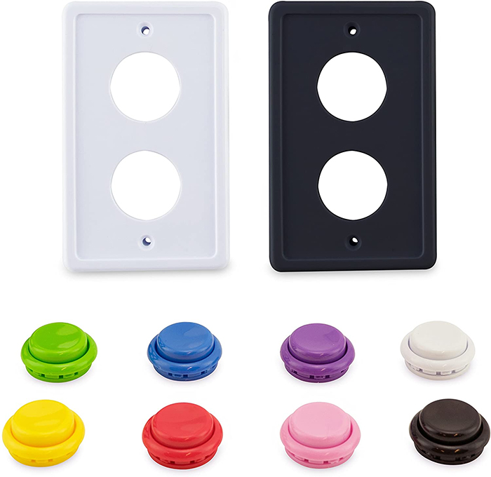 arcade light switch cover colors