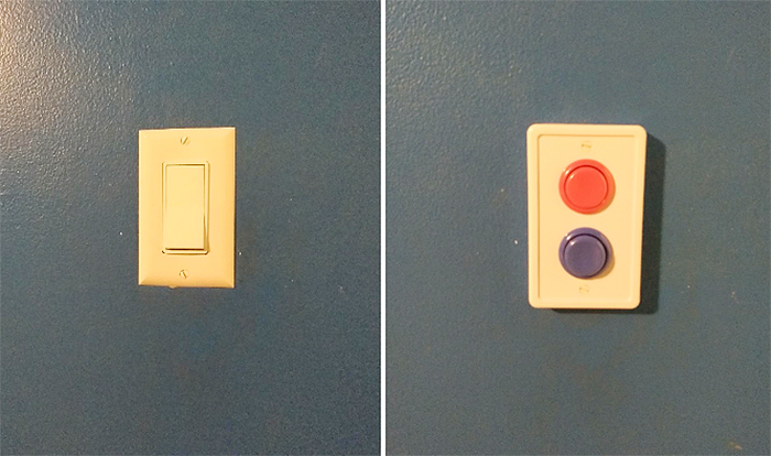 arcade light switch cover easy to install