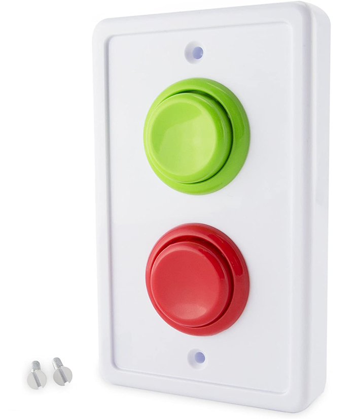 arcade light switch cover push buttons