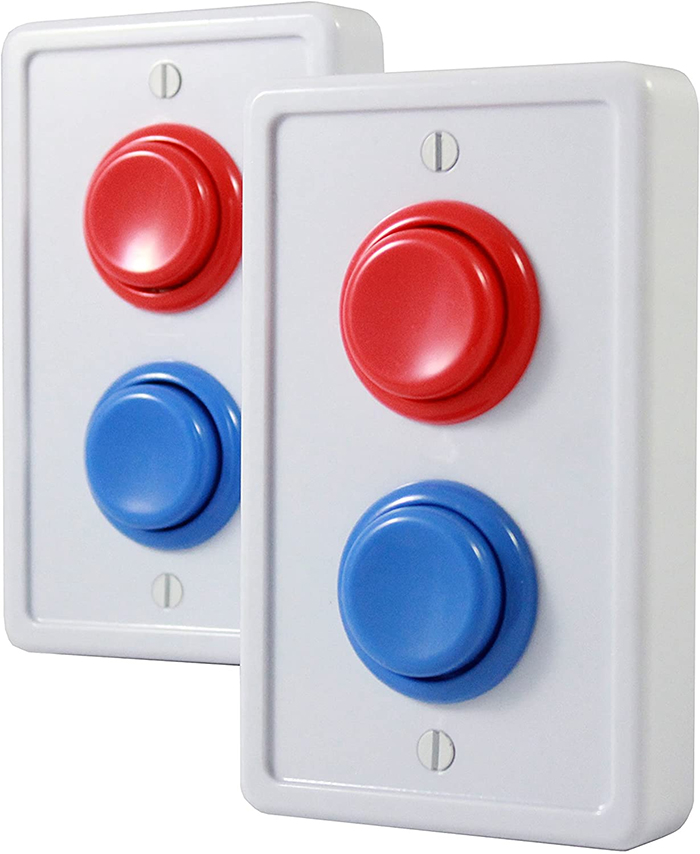 arcade light switch cover white plate