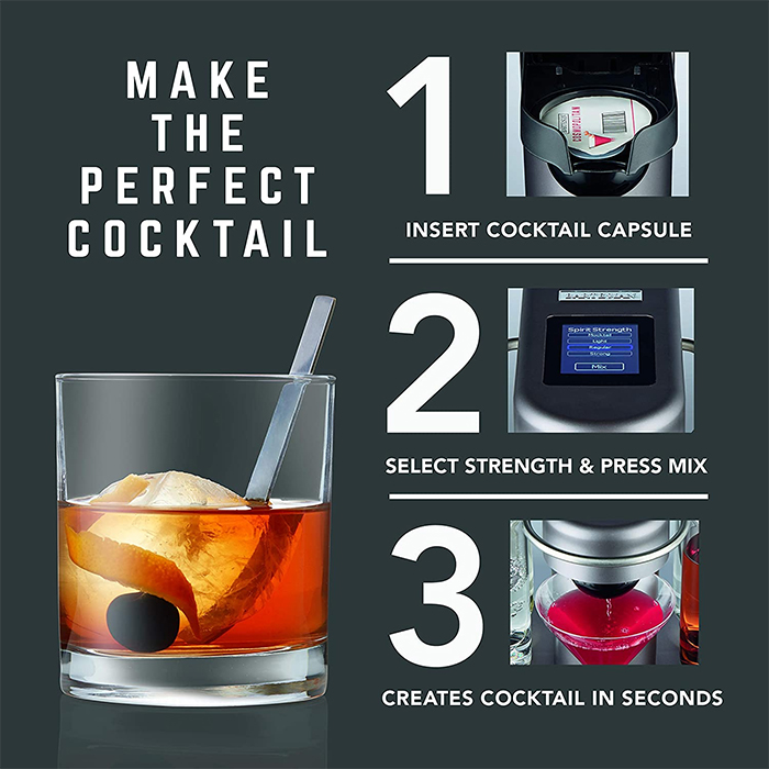 automatic cocktail maker how to use
