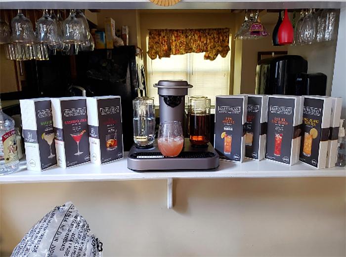 bartesian home bar appliance