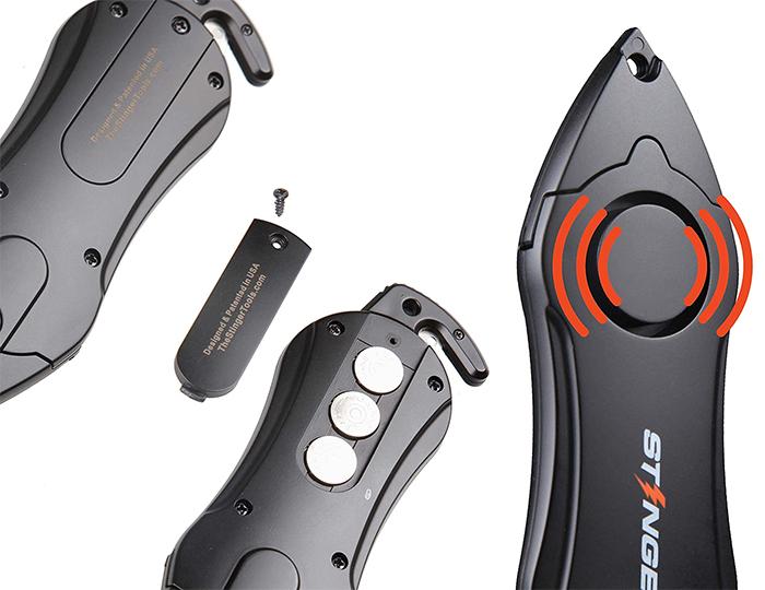 battery powered self-defense tool
