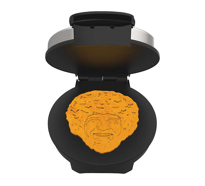 bob ross waffle maker appliance