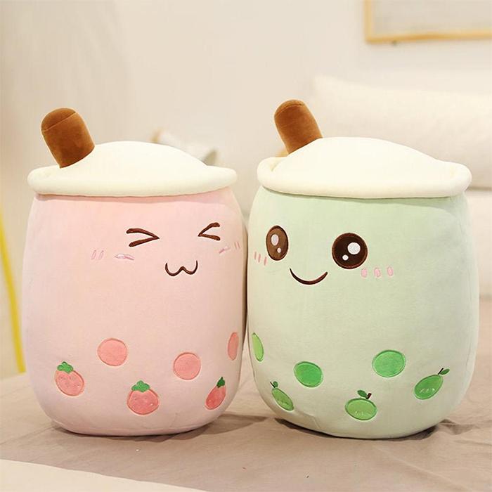 bubble tea plush toys
