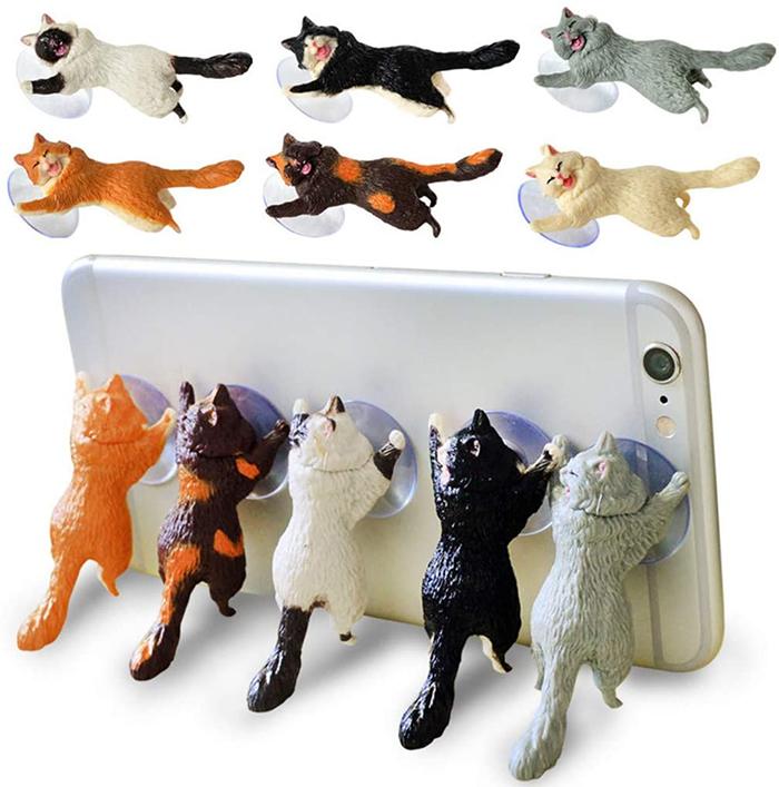 cat phone holders