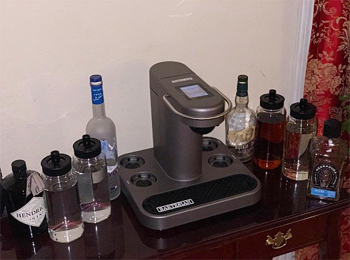 cocktail machine base spirits