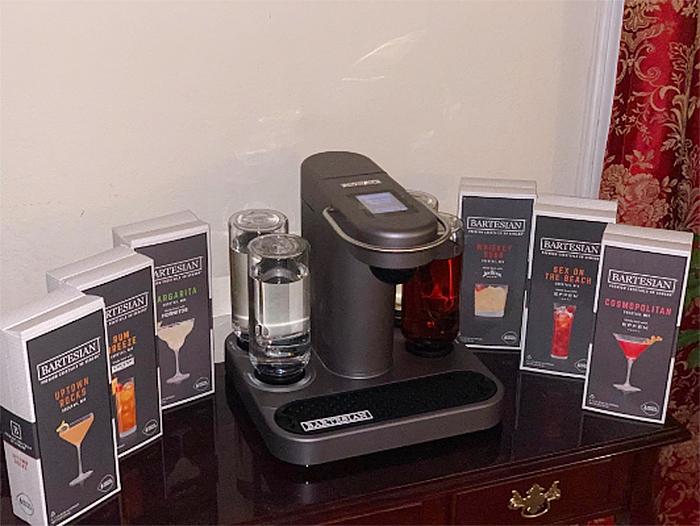 cocktail machine capsules