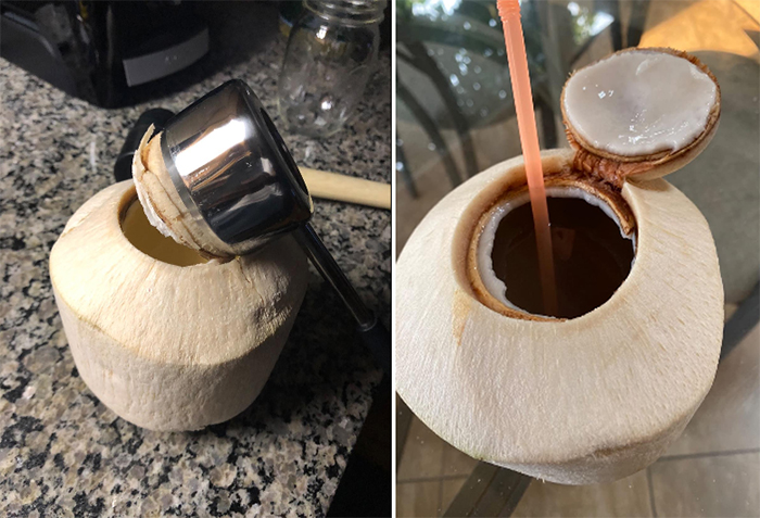 coconut opening kit easy to use