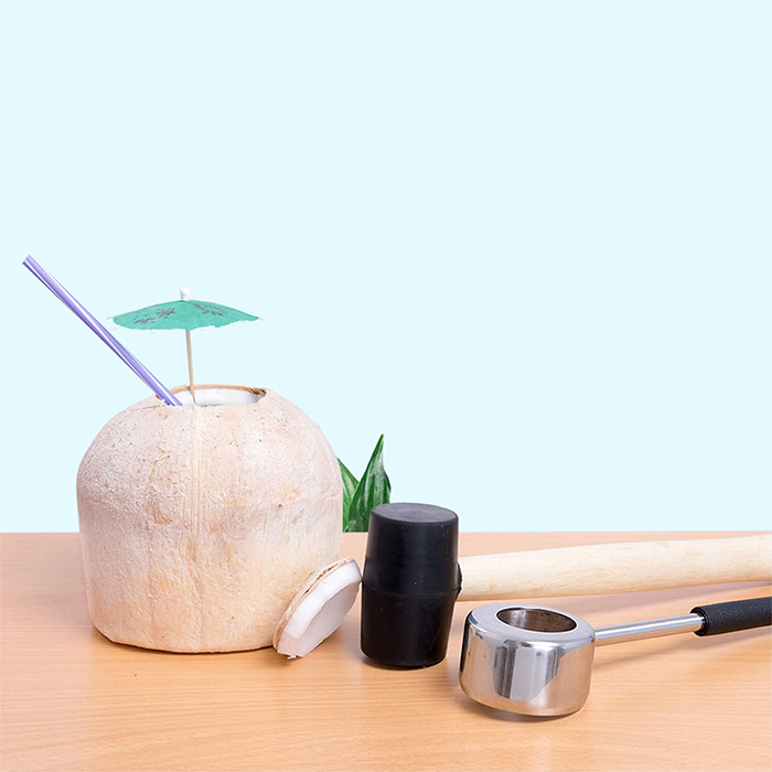 coconut opening kit mallet opener