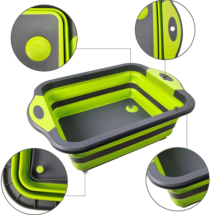 collapsible cutting board details