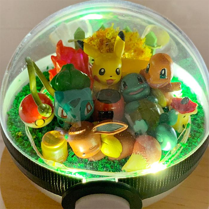 cute pikachu toys pokeball