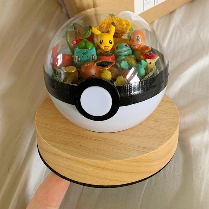 cute pokeball collectible