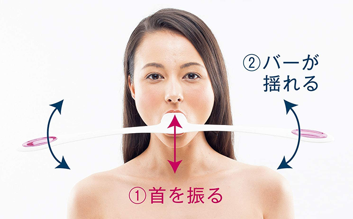 facial fitness device with weights