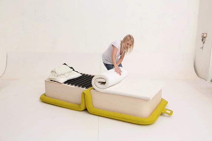 flop multifunctional armchair by designer elena sidorova