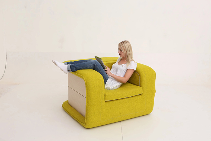 flop multifunctional armchair by elena sidorova
