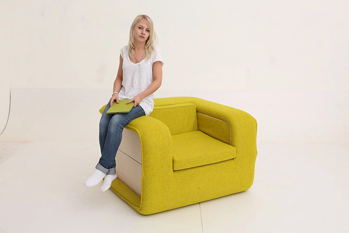 flop multifunctional armchair designer elena sidorova