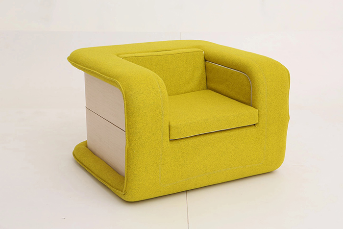 flop multifunctional armchair