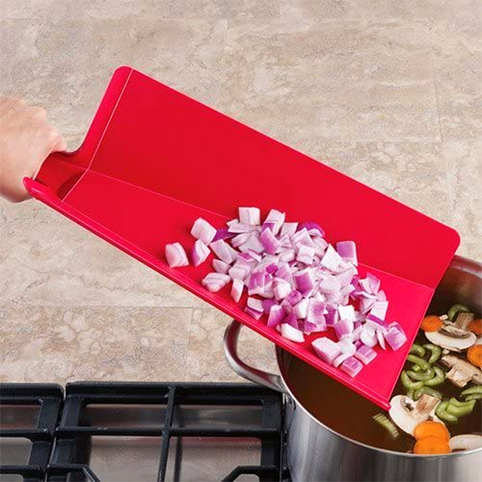 foldable cutting board red