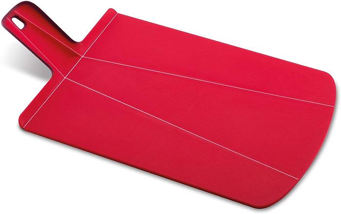 folding chopping mat red