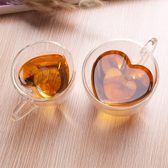 heart shaped cup for tea