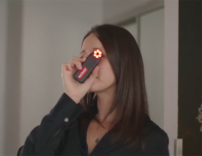 hidden spy camera detector led