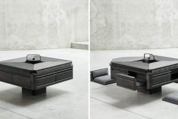 japanese-inspired tea table