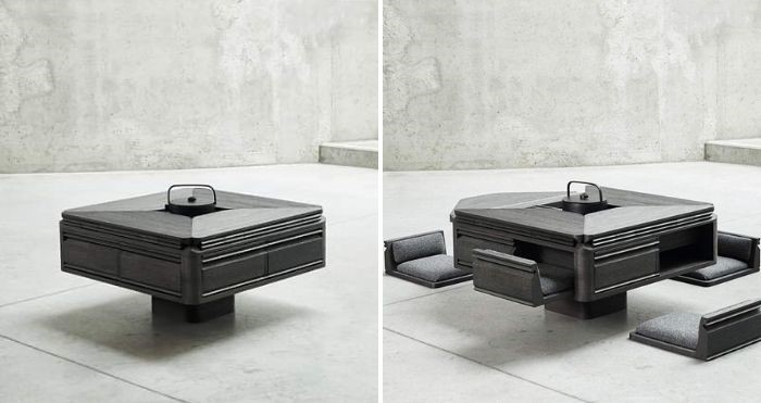 japanese-inspired tea table