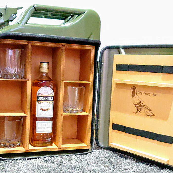 jerry can mini bar engraving