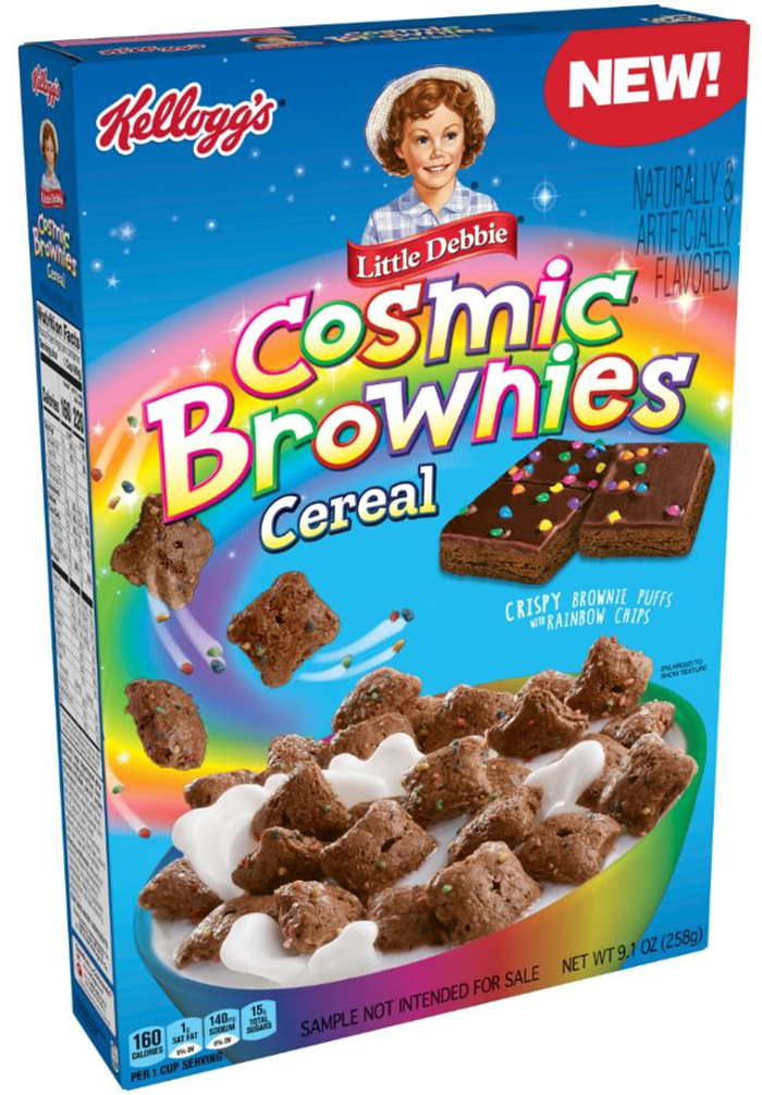 kelloggs cosmic brownies cereal