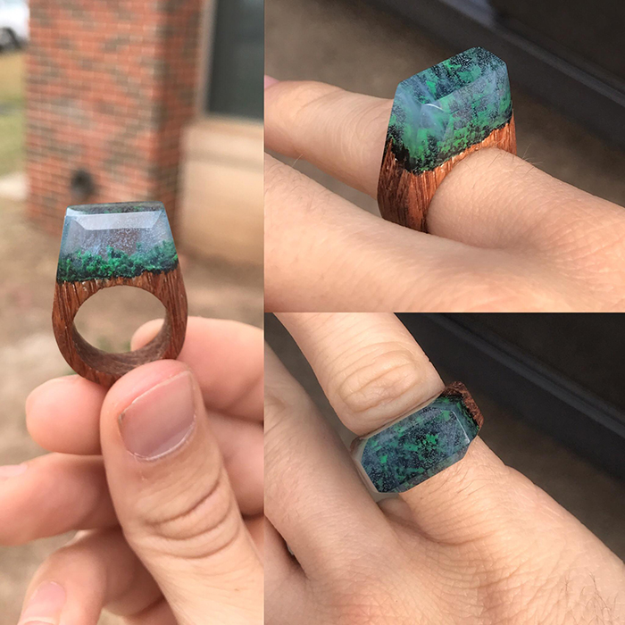 my secret wood ring for girlfriend