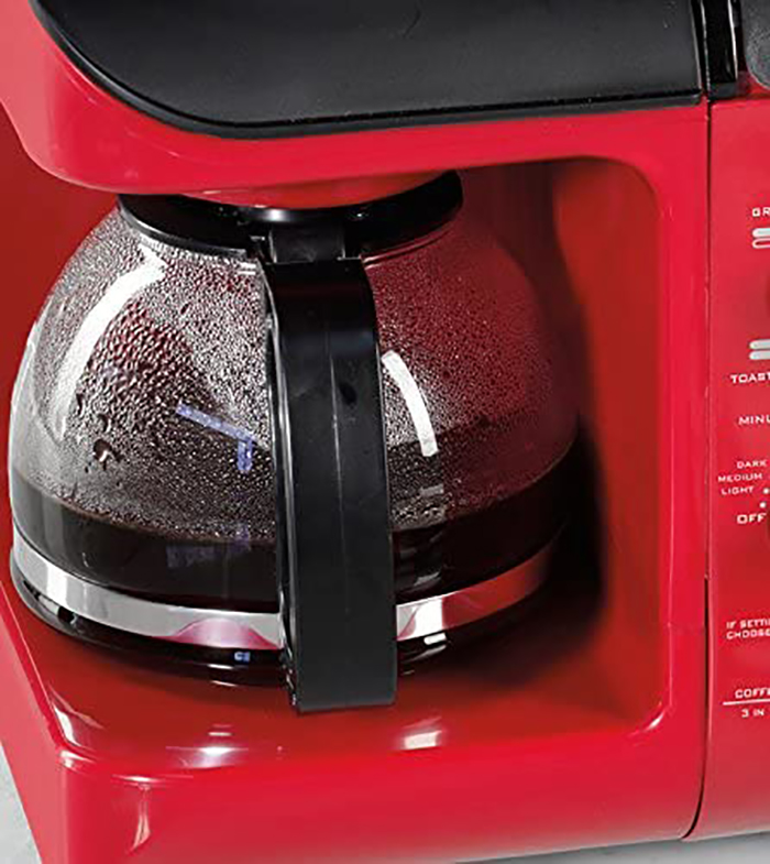nostalgia retro style multifunctional appliance integrated coffee maker