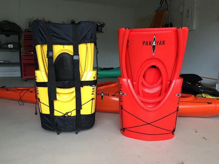 pakayak portable kayak backpack style portage