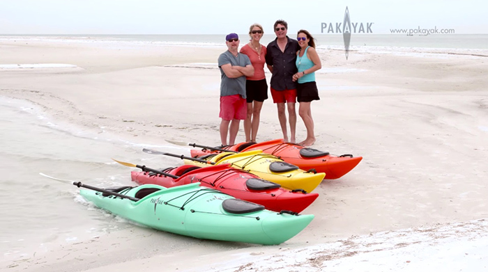 pakayak portable kayak product development team